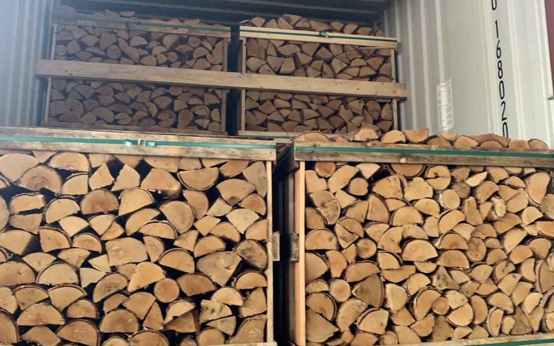 1.0 m³ wooden box